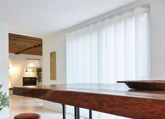 XL Vertical Blinds | Material: Park | Color: Winter