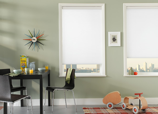 Econo Cellular Shades | White