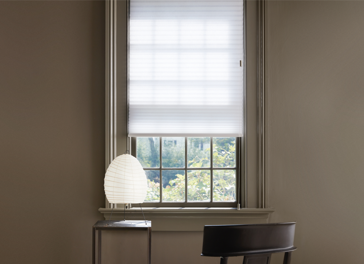 "Cellular Shade, Material: 3/4"" Single Cell Light Filtering, Color, Lace"