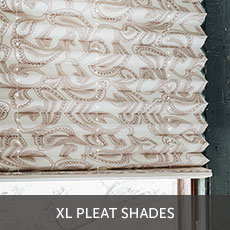 XL Pleated Shades