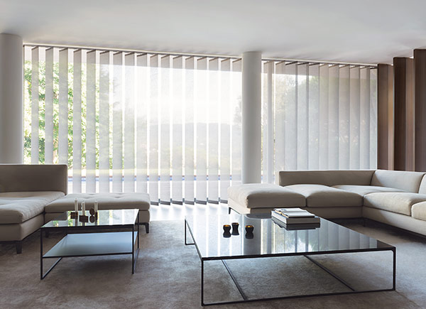 XL Vertical Blinds | Park | Grey