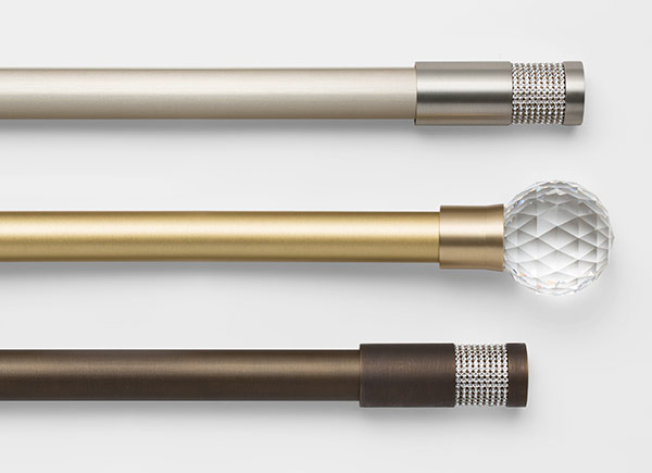 Drapery Hardware | Swarovski Hardware Collection