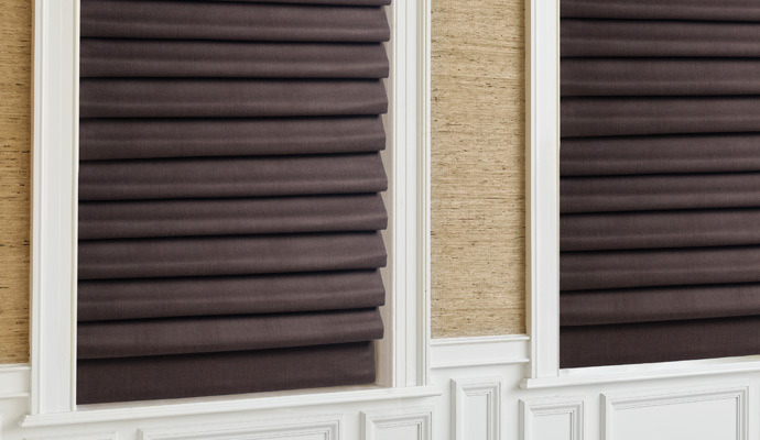 Custom Roman Shade 2017 Grasscloth Wallpaper