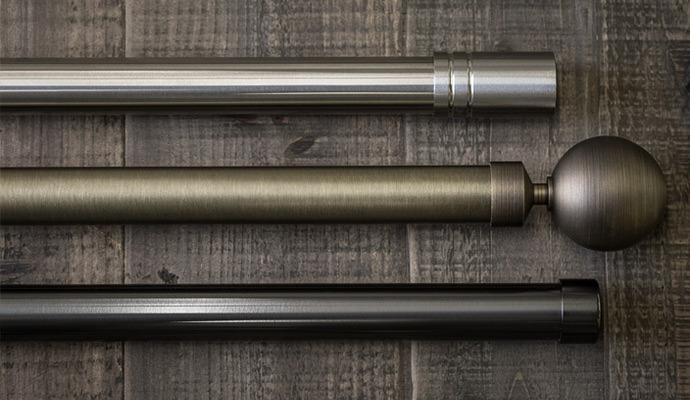 steel drapery hardware